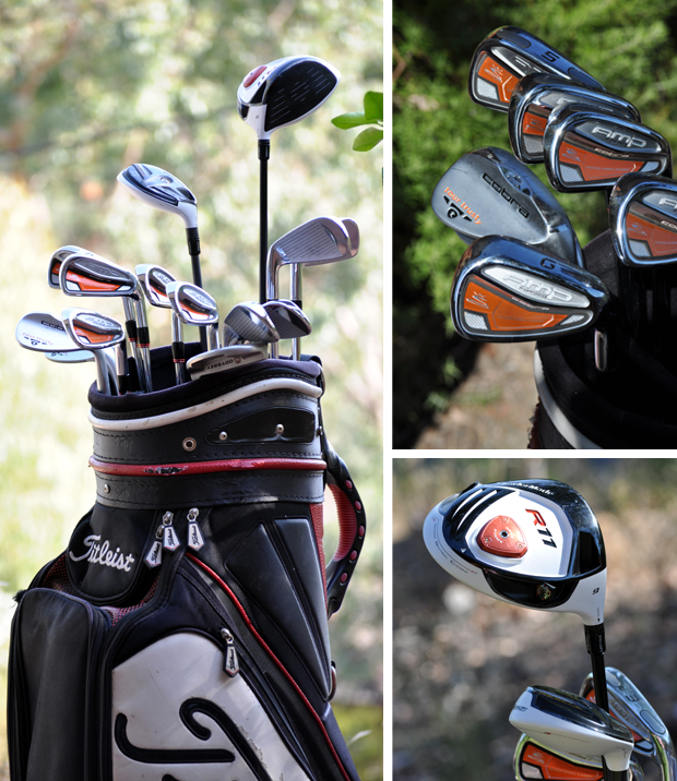 Cobra, Titleist, Taylormade, Golf Clubs