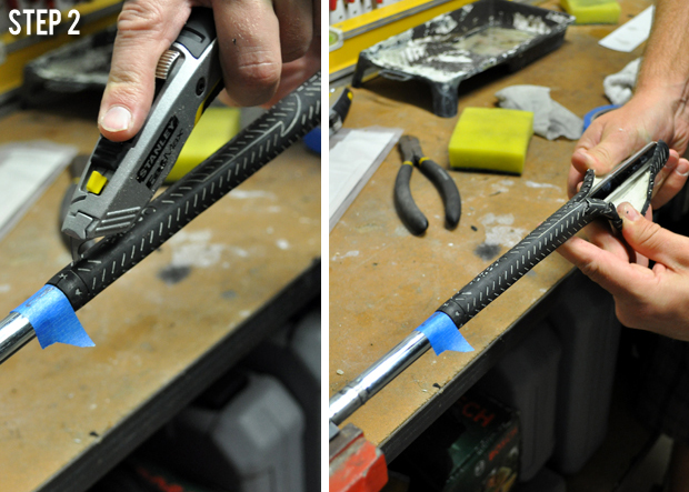 How to re-grip a golf club