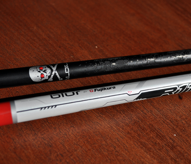 Aldila RIP, Fujikura BLUR, Golf Shafts